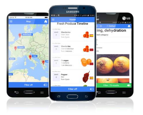 AGF harvest app