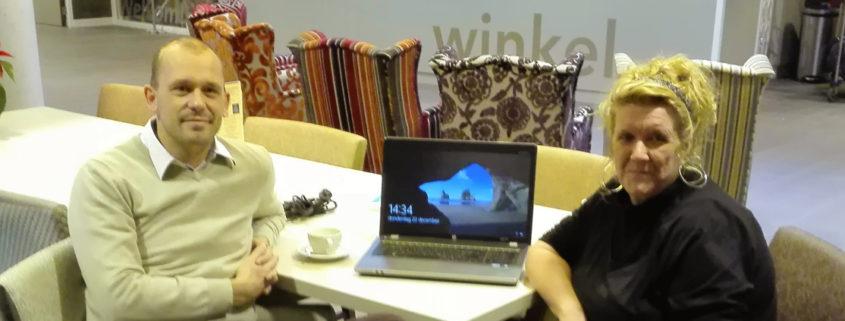 2e laptop voor Thebe Hagendonk