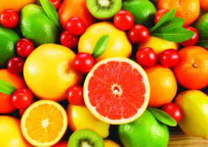 online werken gemengd fruit