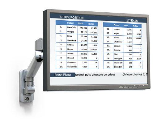 logistiek informatie display